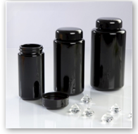 Premiumverpackung Violettglas
